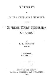Ohio State Reports: Volume 41