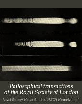 Philosophical Transactions of the Royal Society of London: Containing papers of a mathematical or physical character