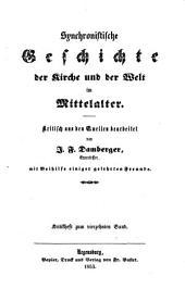 Synchronistische Geschichte der Kirche und der Welt im Mittelalter: Kritikheft zum vierzehnten Band, Band 14
