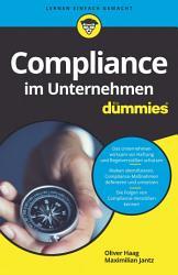 Compliance im Unternehmen f  r Dummies PDF