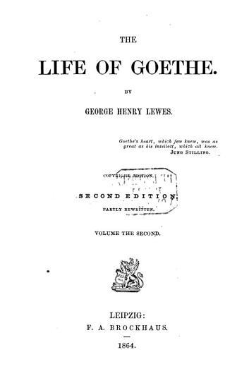 The Life of Goethe PDF