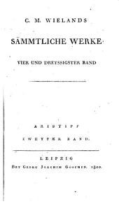 Aristipp Und Einige Seiner Zeitgenossen: 33-36