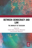 Between Democracy and Law PDF