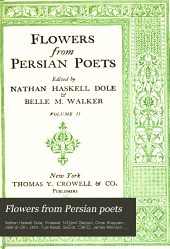 Flowers from Persian Poets: Volume 2