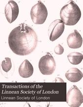 Transactions of the Linnean Society of London: Zoology, Volume 4