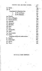 Traité de matière médicale: ou, De l'action pure des médicamens homoeopathiques, Volume3