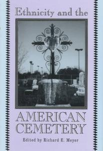 Ethnicity and the American Cemetery Book