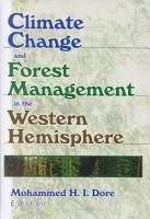 Climate Change and Forest Management in the Western Hemisphere PDF