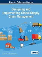 Designing and Implementing Global Supply Chain Management PDF