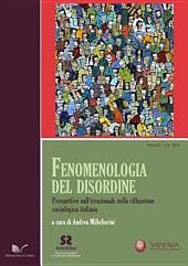 Fenomenologia del disordine: Prospettive sull'irrazionale nella riflessione sociologica italiana