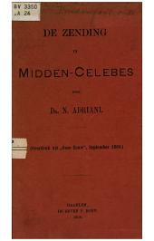 De zending in Midden-Celebes