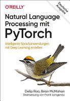 Natural Language Processing mit PyTorch PDF