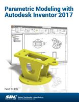Parametric Modeling with Autodesk Inventor 2017 PDF