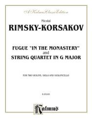 Two String Quartets, Fugue 'In the Monastery' and String Quartet in G Major