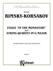Two String Quartets  Fugue  In the Monastery  and String Quartet in G Major