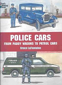 Police Cars Coloring Book PDF