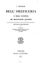 I trattati dell'oreficeria e della scultura