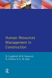 Human Resources Management in Construction