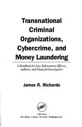 Transnational Criminal Organizations Cybercrime And Money Laundering Book PDF