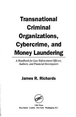 Transnational Criminal Organizations  Cybercrime  and Money Laundering PDF