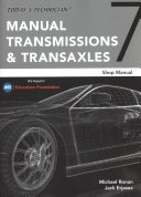 Today s Technician  Manual Transmissions and Transaxles Classroom Manual and Shop Manual PDF