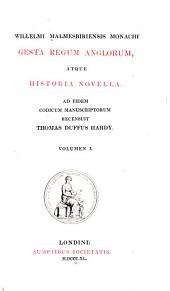 Gesta regum anglorum atque historia novella: Volume 6