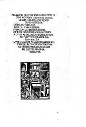 Historia de bello Iudaico
