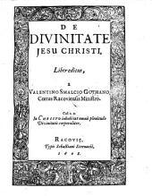 De Divinitate Jesu Christi