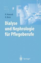 Dialyse und Nephrologie für Pflegeberufe