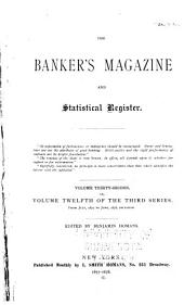 The Bankers Magazine and Statistical Register: Volume 32