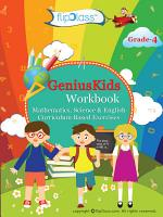 Genius Kids Worksheets  Bundle  for Class 4  Grade 4    Set of 6 Workbooks  English  Mathematics and Science  PDF
