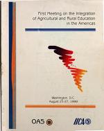 Primera Reunion de Integracion de la Educacion Agropecuaria Y Rural de Las Americas