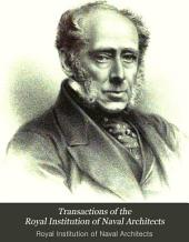 Transactions of the Royal Institution of Naval Architects: Volume 21
