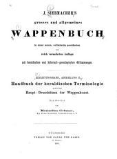 Grosses und allgemeines Wappenbuch: in einer neuen. Einleitungsband. Abt. A, B.