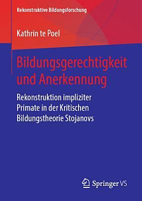 Bildungsgerechtigkeit und Anerkennung PDF