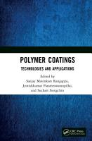 Polymer Coatings  Technologies and Applications PDF