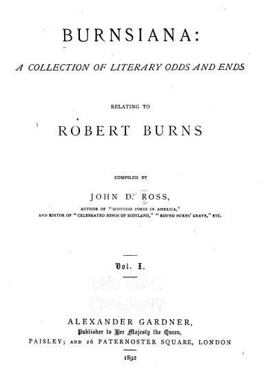 Burnsiana PDF