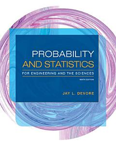 Probability and Statistics for Engineering and the Sciences Book