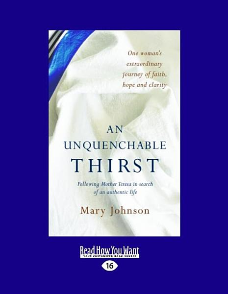 Download An Unquenchable Thirst Book
