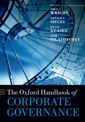 The Oxford Handbook of Corporate Governance