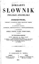 A complete dictionary English and Polish and Polish and English