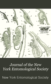 Journal of the New York Entomological Society: Volume 8