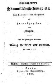 Sämmtliche Schauspiele; frei bearb. von (Mehreren und hrsg. von) Meyer. 4. Aufl. Wohlfeile Taschenausg. mit Kupfern: Band 21
