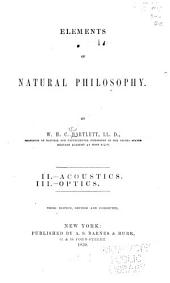 Elements of Natural Philosophy: Volumes 2-3