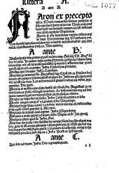 Thesaurus Magistri Sententiarum