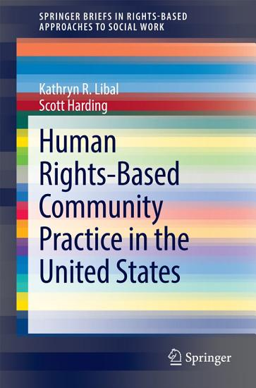 Human Rights Based Community Practice in the United States PDF