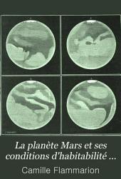 La planète Mars et ses conditions d'habitabilité ...