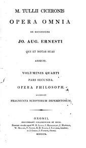 Opera omnia ex recensione Jo. Aug. Ernesti qui et notas suas adjecit: Volume 4, Part 2