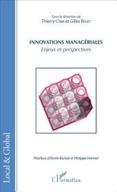 Innovations managériales: Enjeux et perspectives