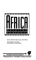 Africa  Opposing Viewpoints PDF